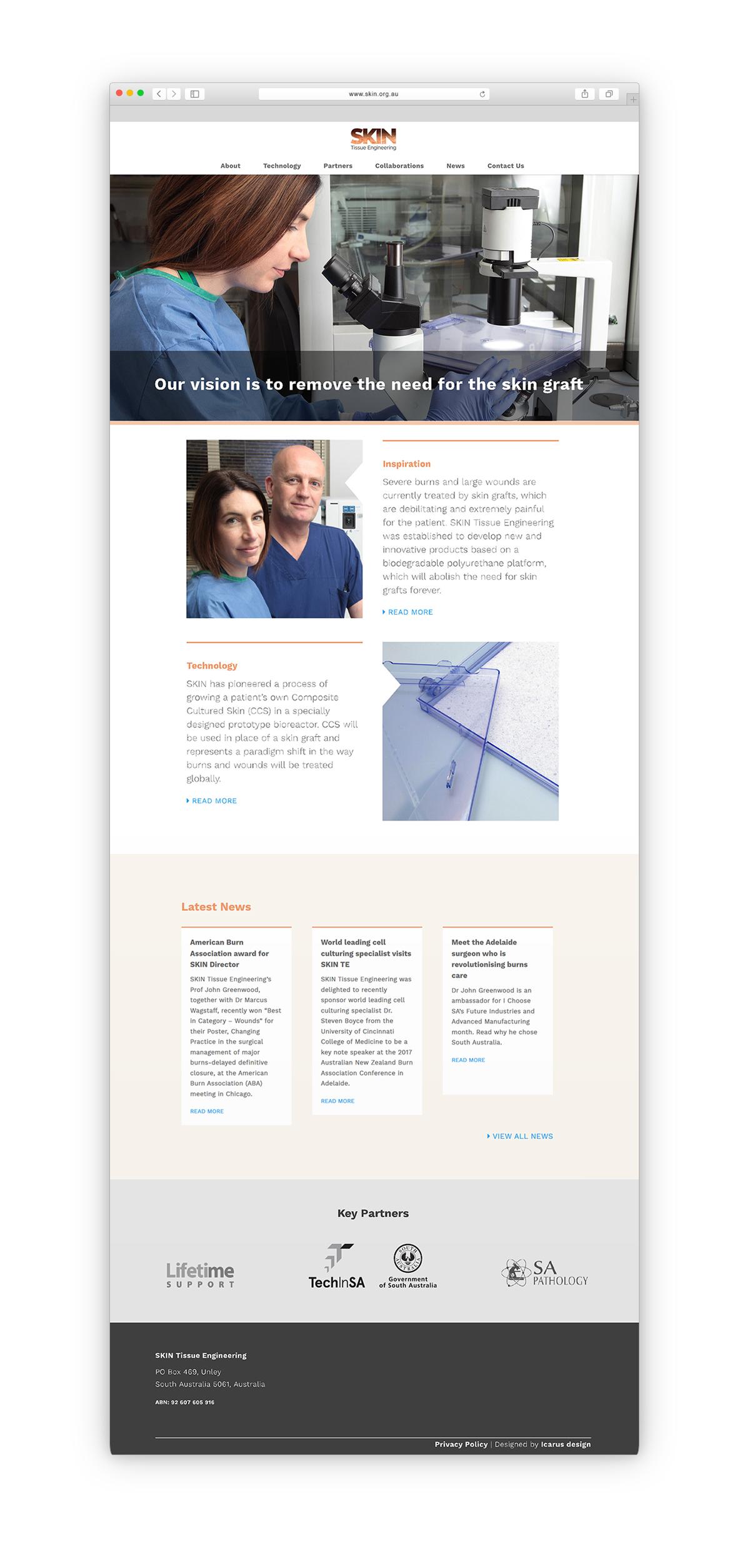 SKIN Homepage